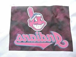 1 cleveland indians baseball mlb 18x18 sewing