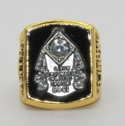 1948 Cleveland Indians Championship Ring BOB FELLER World Se