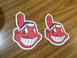 Lot Of Cleveland Indians MLB Iron On Patches Sleeve / Jerse