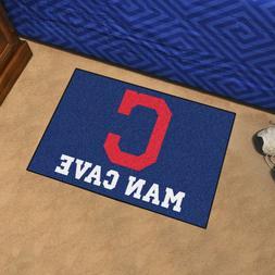 Fanmats 22399 Mlb-Cleveland Indians Man Cave Starter Rug