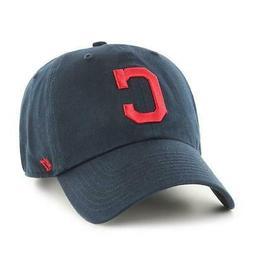 '47 MLB Cleveland Indians Clean Up Adjustable Hat