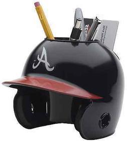 ATLANTA BRAVES MLB Schutt MINI Baseball Batter's Helmet DESK