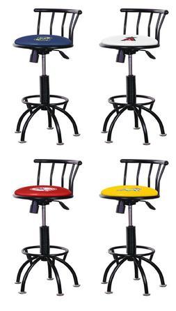 bar stool 24 29 tall adjustable black