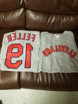 Bob Feller Tee Shirt Cleveland Indians Mens New Size xlarge