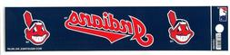 chief wahoo cleveland indians 9 x 2