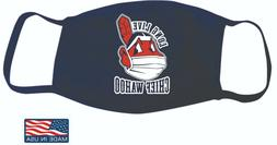 Chief Wahoo Mask Wearing A Mask Long Live Chief Wahoo Clevel