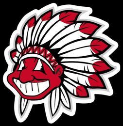 Chief Wahoo STICKER Tribute Cleveland Indians Vinyl MLB Base
