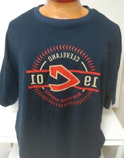 CLEVELAND INDIANS 1901 THROWBACK MENS 3X 4X SHIRT MAJESTIC N
