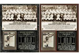 Cleveland Indians 1920 World Series Champions Photo Card Pla