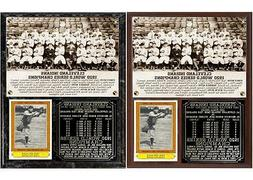 Cleveland Indians 1920 World Series Champions Photo Plaque