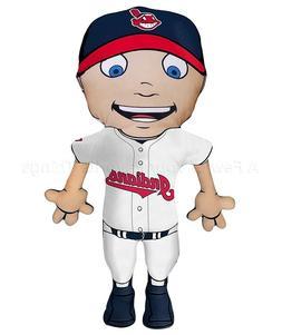"""Cleveland Indians 28"""" Cloud Buddy Pillow MLB Baseball Team B"""