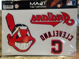 CLEVELAND INDIANS 4 PACK OF DIE-CUT VINYL MAGNETS CHIEF WAHO