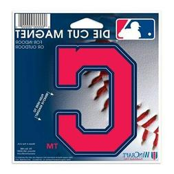 "Cleveland Indians WinCraft 5"" Logo Die-Cut Car Magnet"