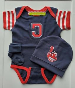Cleveland Indians baby/infant clothes Indians baby shower gi