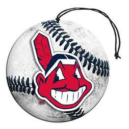 Cleveland Indians Baseball Air Freshener Vanilla Scent 3 Pac