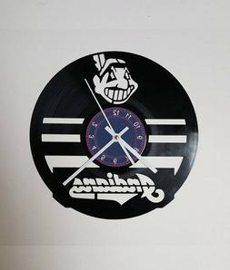 Cleveland Indians Baseball Vinyl Clock xmas gift, Wall clock