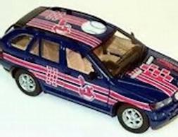 Cleveland Indians BMW X5  Fleer 1:24 Die-cast Baseball Car -