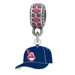 Cleveland Indians Cap Charm