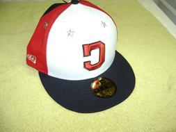 Cleveland Indians CAP / HAT MEN SIZE 7 3/4  NEW ERA 5950  AL