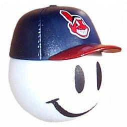 Cleveland Indians Baseball Cap Head Car Antenna Ball / Deskt