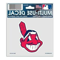 "CLEVELAND INDIANS CHIEF WAHOO 3""X4"" MULTI-USE DECAL PERFECT"