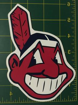 Cleveland Indians Chief Wahoo 6 Inch Car Magnet cleveland in