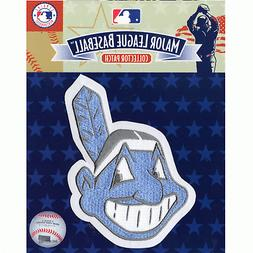 Cleveland Indians Chief Wahoo Fathers Day Blue Sleeve Jersey