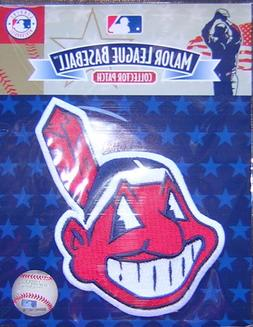 Cleveland Indians Chief Wahoo Jersey Sleeve Official MLB Log