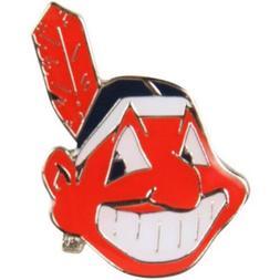 Cleveland Indians Chief Wahoo Logo Metal Lapel Pin Hat Baseb