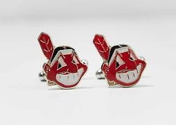 Cleveland Indians Cufflinks MLB Baseball