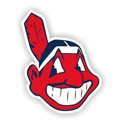 Cleveland Indians  Decal / Sticker Die cut