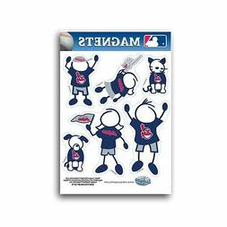 Cleveland Indians Family Magnet Set  Auto Car Stickers Emble