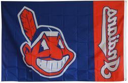 Cleveland Indians Flag 3x5FT Banner MAN CAVE US Shipper