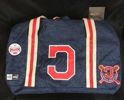 New Era Cleveland Indians Heritage Patch Small Duffel Duffle