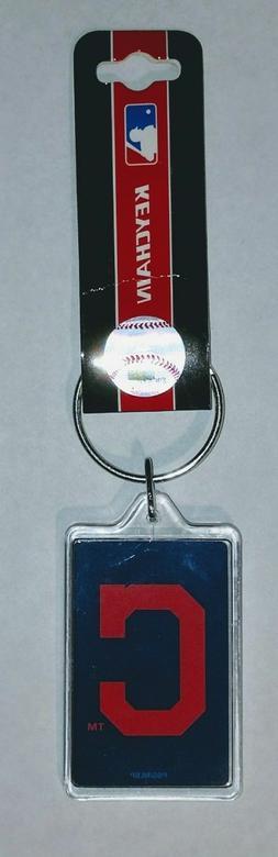 Cleveland Indians Keychains - Acrylic Style Box C MLB Centra