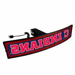 Cleveland Indians Light Up Hitch Cover - LED Illuminated Tra