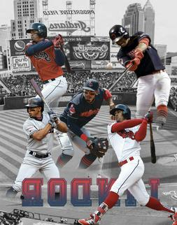Cleveland Indians  Lithograph print of  Francisco Lindor  11