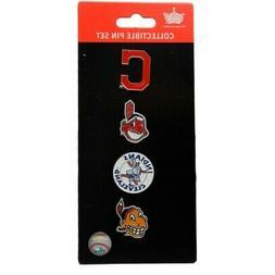 Cleveland Indians Logo MLB Baseball Evolution 4 Piece Lapel