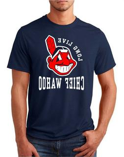 cleveland indians long live chief wahoo adult