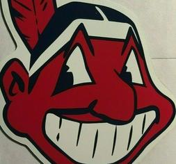 """Cleveland Indians magnet Chief Wahoo car magnet 6"""" tall magn"""