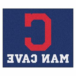 Cleveland Indians Man Cave 5' X 6' Tailgater Area Rug Floor