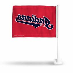 Cleveland Indians MLB 11x14 Window Mount 2-Sided Car Flag