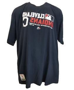 Cleveland Indians Majestic MLB Authentic Collection Home Tee