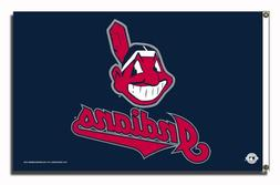 Cleveland Indians MLB 3in x 5in Banner Flag