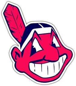 Cleveland Indians MLB Baseball Car Bumper Window Sticker Dec