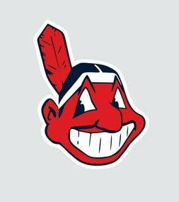 Cleveland Indians MLB Baseball Color Sports Decal Sticker-Fr