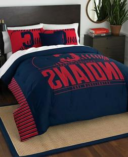 Cleveland Indians MLB Baseball Full Queen Size Bed Comforter