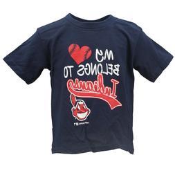 Cleveland Indians MLB Genuine Infant Toddler Girls Size Dist