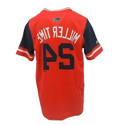 Cleveland Indians MLB Genuine Youth Size Andrew Miller Jerse