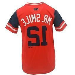 Cleveland Indians MLB Genuine Youth Size Francisco Lindor Je